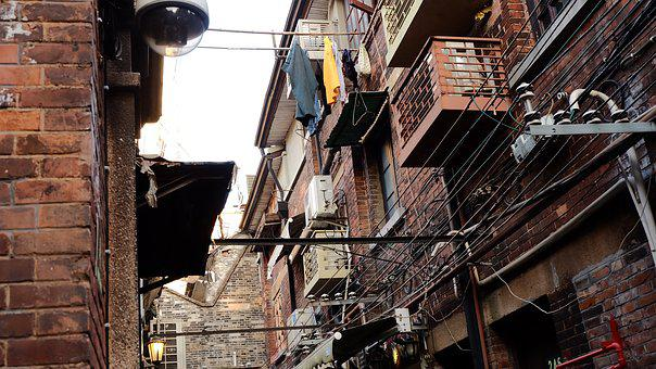 Shanghai, Alley, House, Clothing, The Old House