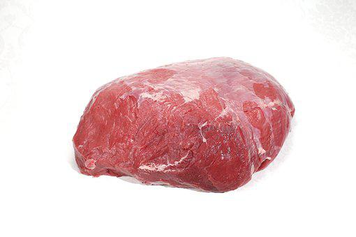Beef, Carving, Ox, Raw, Meat, Trimmed, Food