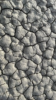 Mud, Dehydrated, Drought, Dry Soil, Clay Soil, Cracked