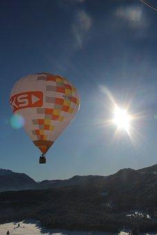 Hot Air Balloon, Float, Sky, Balloon, Hot Air, Glow