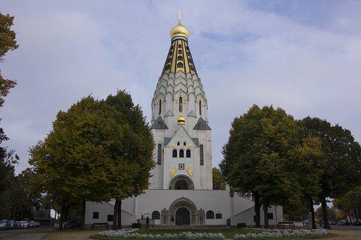Leipzig, Russian Orthodox, St -alexi-memorial Church
