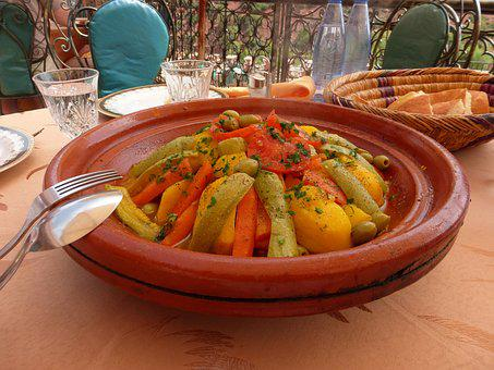 Food, Morocco, Colourful