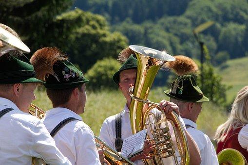 Bavaria, Music, Chapel, Tradition, Costume, Gamsbart
