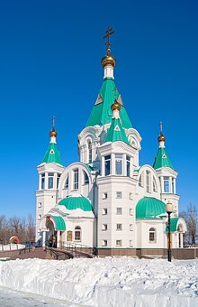Temple, Church, Cathedral, Religious, Russia