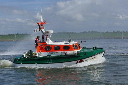 Sar, Boot, Lifeboat, Rescue Ship, North Sea