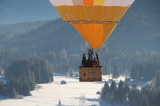 Hot Air Balloon, Sky, Hot Air Balloon Ride, Float, Rise