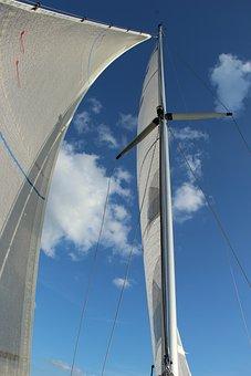Sail, Sailing Mast, Sky, Sailing Boats, Sailing Trip