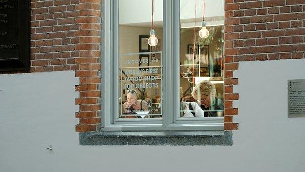 Amsterdam, Tattoo, Holland, Netherlands, Shop, Downtown