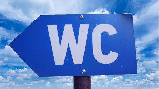 Sign, Wc, Restroom, Toilet, Bathroom, Male, Symbol