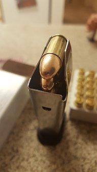 Bullet, Bullets, Gun, Clip, Magazine