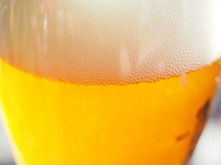 Sparkle, Foam, Head, Beer, Drink, Beer Beads