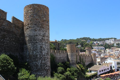 Tossa De Mar, Catalonia, Old Town, Medieval Fortress