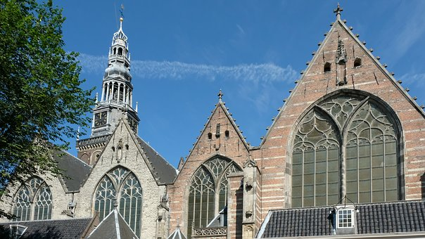 Old Church, Amsterdam, Holland, Oude Kerk, Netherlands