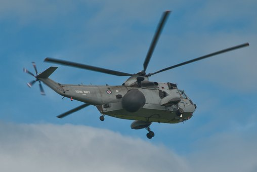 Raf, Sea King, Helicopter, Sonar, Anti Submarine, Navy