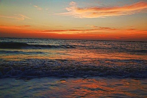 Seascape, India, Sea, Beach, Konkan, Maharashtra