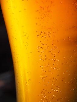 Sparkle, Beer, Drink, Beer Beads, Carbonic Acid