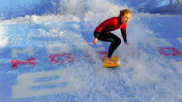 Surf, Weaves, Ocean, Water, Beach, Summer, Surfing