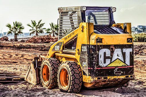Construction Site, Machinery, Vehicle, Yellow