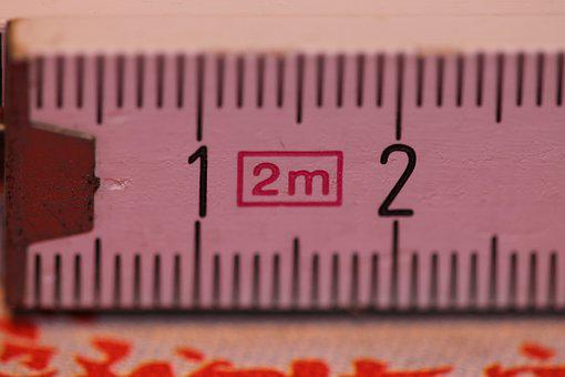 Folding Rule, Bers Scale, Centimeters, Measure, Number
