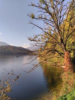 Styria, Altaussee, Lake, Water, Autumn, Dachstein