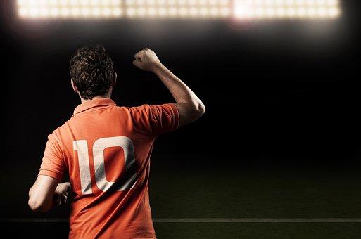Vitoria, Celebration, Football Field, Sport, Football