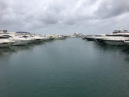 Harbour, Boats, Harbor, Port, Water, Puerto Banus