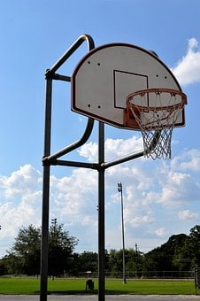 Outdoor Basketball Court, Houston, Texas, Backboard