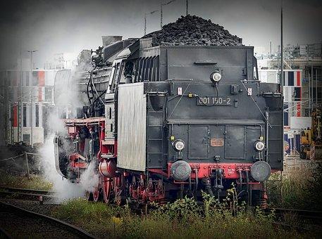 Locomotive, Transport, Railway, Train, Traffic