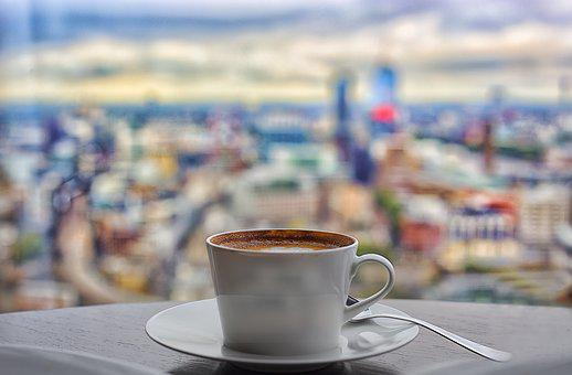 Coffee, London, Shad, City View, Cafe, Cup, Restaurant