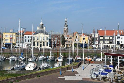 Marina, Vlissingen, North Sea, Westerschelde, Tourism