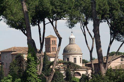 Rome, Palatine, Buildings
