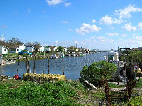 Port, Fishing, Sea, Water, Fishermen, Cabins, Oyster