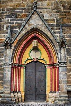 Door, Church Door, Portal, Fitting, Ornament, Old Door