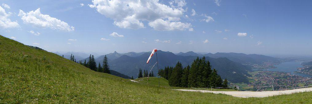 Tegernsee, Dragon Fly, Launch Site, Flight Feeling