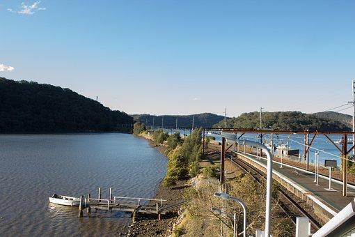 Boat, Rock Face, River, Nature, Travel, Tourism