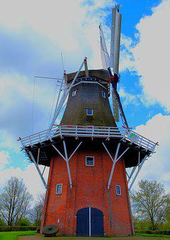 Windmill, Wind Power, Mill, Old Mill, Millstone