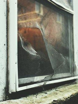 Window, Urban, Street, City, Alley, Grunge, Dirty