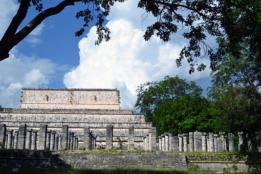 Mayan, Ruins, Mexico, Ancient, History, Past, Building