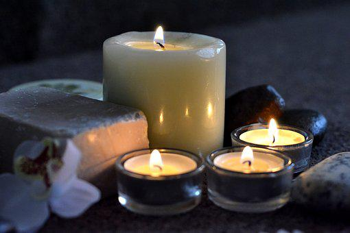 Candles, Spa, Relax, Light