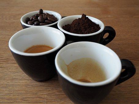 Coffee, Coffee Mugs, Drink, Beans, Coffee Beans