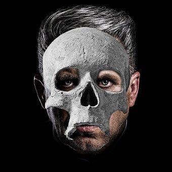 Skull, Portrait, Mask, Halloween, Phantom, Death