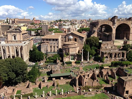 Ancient Rome, Ruins, Historical Monuments, Heritage