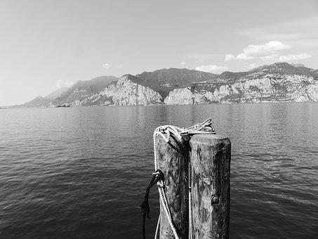 Malcesine, Garda, Lake, At Malcesine, Italy, Good View