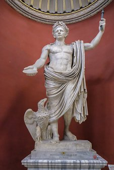 Statue, Sculpture, Roman, Vatican, Museum, Marble