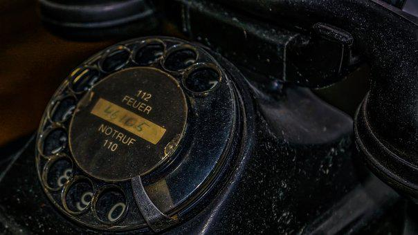 Phone, Old, Telephone, Retro, Vintage, Old Phone