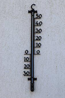 Wall, Thermometer, Outdoor Thermometer, 19, Degree