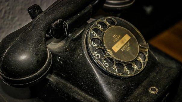 Phone, Old, Telephone, Technology, Retro, Vintage