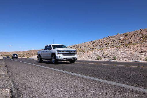 Chevrolet, Auto, Pickup, Pick Up, Truck, White
