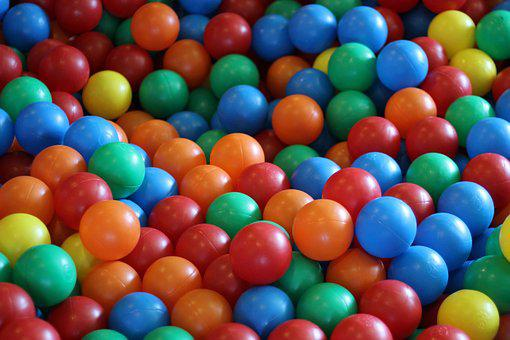 Balls, Toy, Color, Colorful, Play, Fun, Game, Baby