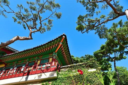 Temple, Korea, Incheon, Ganghwado